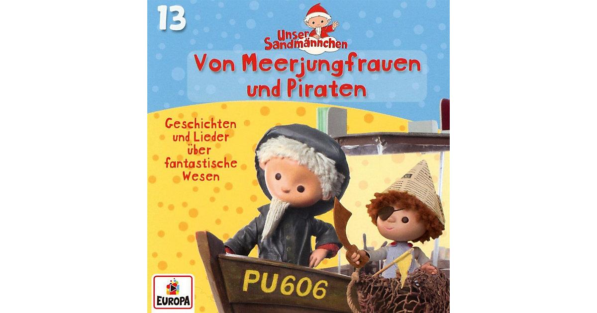 CD Unser Sandmännchen 13 - Von Meerjungfrauen und Piraten Hörbuch