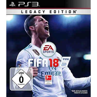 PS3 Fifa 18 - Legacy Edition