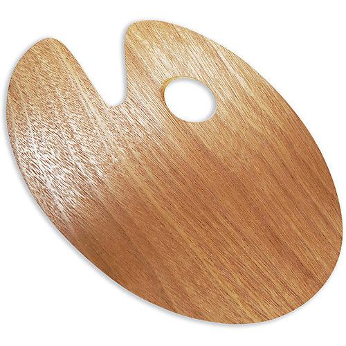 Овальная деревянная палитра Малевичъ, 20х30 см от Малевичъ