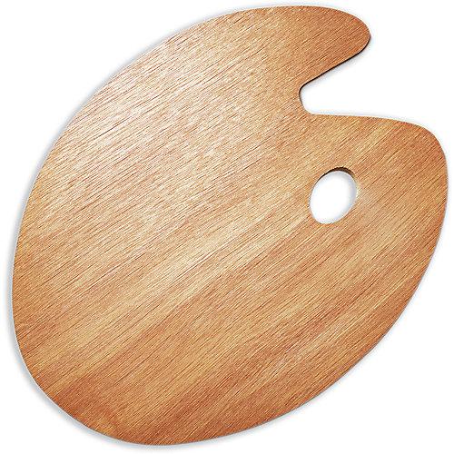 Овальная деревянная палитра Малевичъ, 30х40 см от Малевичъ