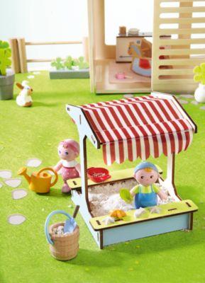 Kleinkindspielzeug HABA 302983 Little Friends Fohlen Lissi