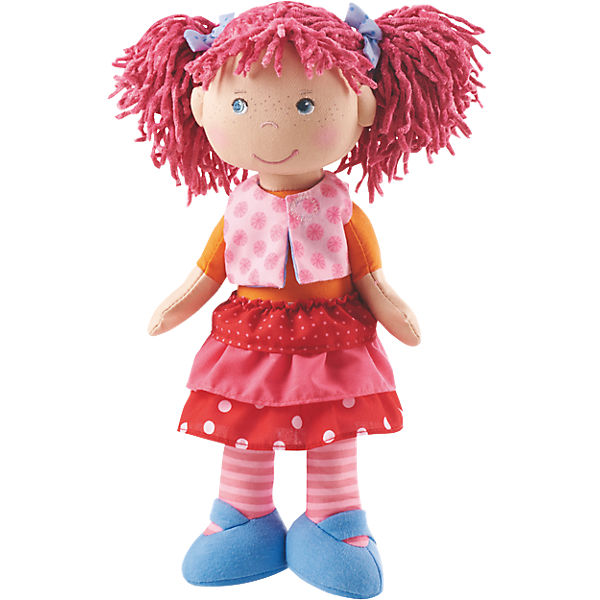HABA 302842 Stoffpuppe Lilli-Lou, 30 cm