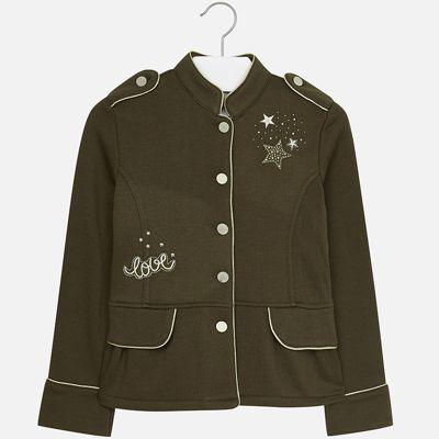 Пиджак Mayoral для девочки - зеленый
