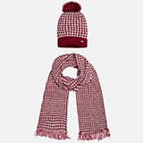 Комплект: шапка и шарф для девочки Mayoral