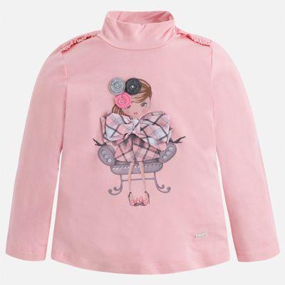 Водолазка для девочки Mayoral - розовый
