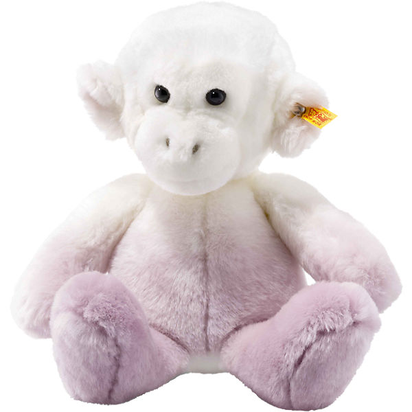 Soft Cuddly Friends Affe Moonlight lila/weiss, 30 cm, Steiff