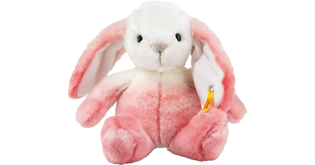 Starlet Hase pink/weiss, 20 cm