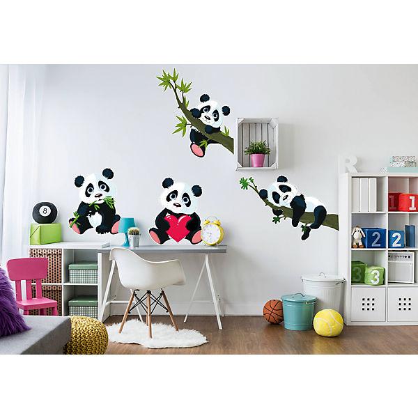 Wandsticker Panda, XXL Set, 145 x 41 cm, | myToys