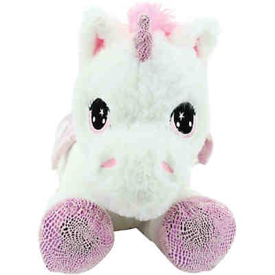 sweety toys 8025 einhorn pl schtier kuscheltier 65 cm rosa. Black Bedroom Furniture Sets. Home Design Ideas