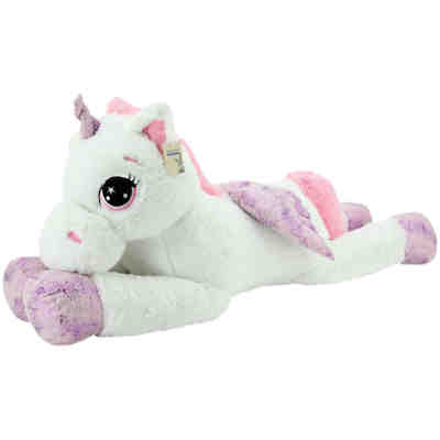 sweety toys 8056 xxl einhorn pegasus pl schtier kuscheltier 130 cm weiss mytoys. Black Bedroom Furniture Sets. Home Design Ideas