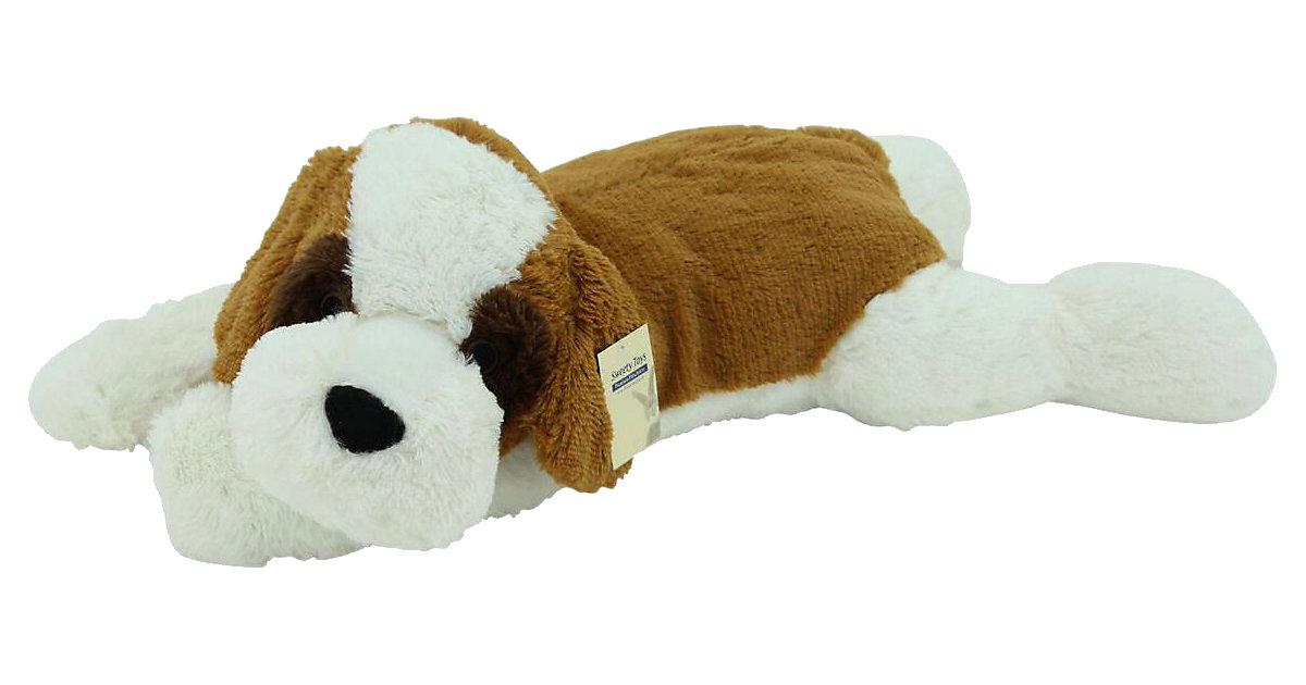 Image of Sweety Toys 5529 XXL Riesen Bernhardiner liegend Plüschhund - ca. 80 cm groß - Kuschelhund Teddybär Plüschtier Plüsch Plüschbär Sweety Toys