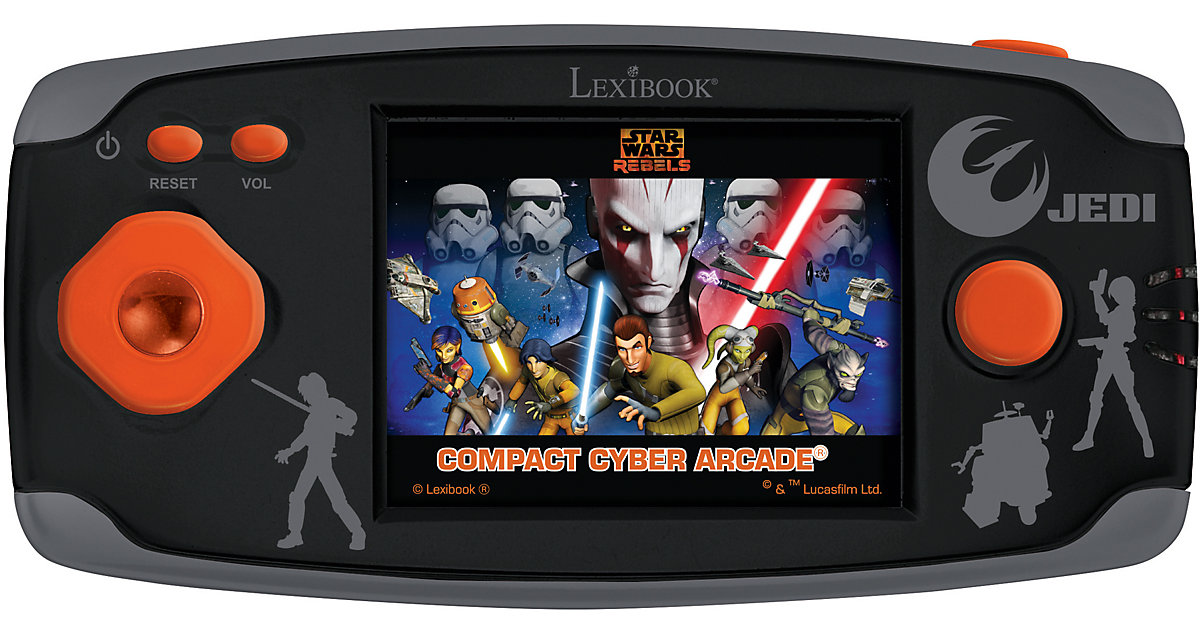 Star Wars LCD-Spielekonsole mit 150 Spiele