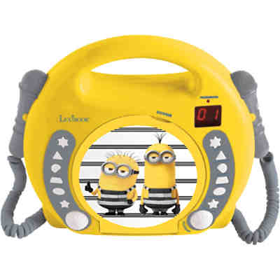 Minions Kinder CD-Player mit 2 Mikrofonen
