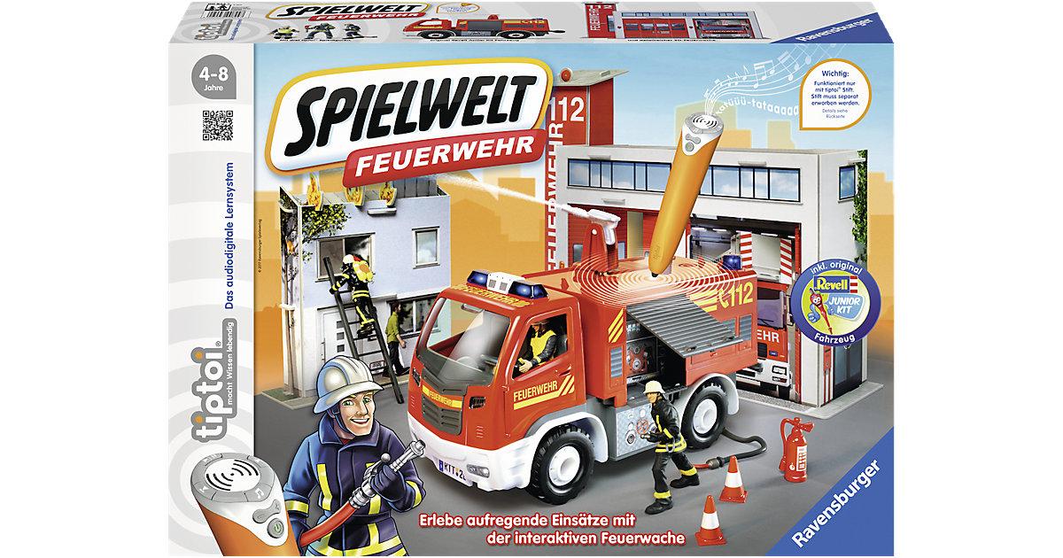 tiptoi® Spielwelt Feuerwehr, Neuauflage (ohne tiptoi Stift)