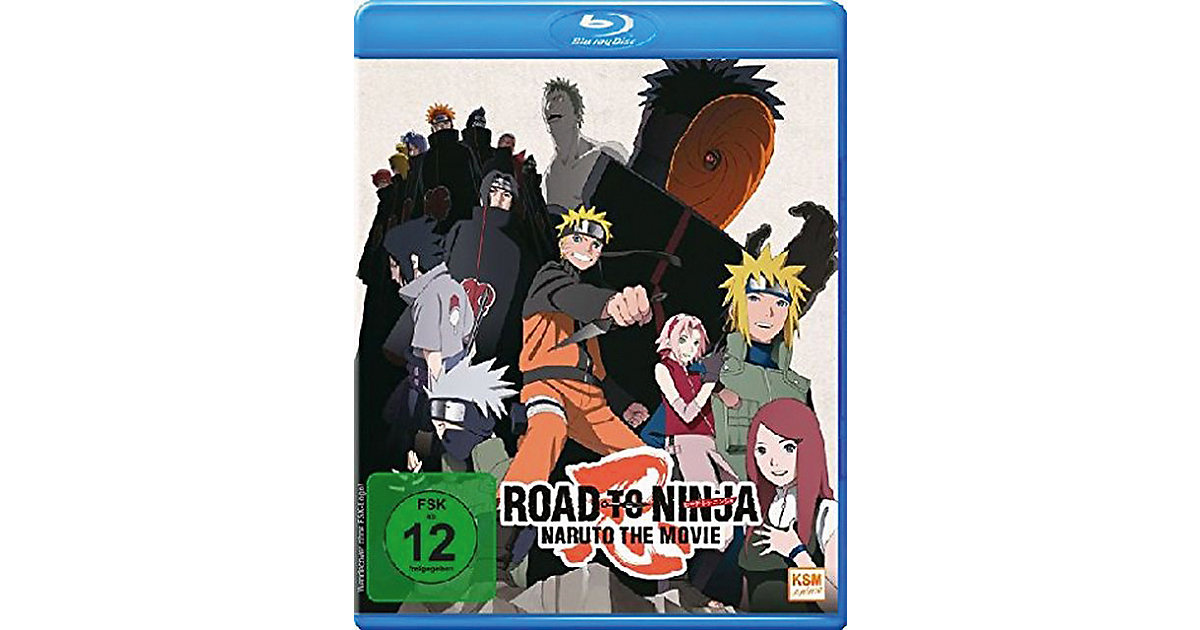 BLU-RAY Road to Ninja - Naruto - The Movie (2012)