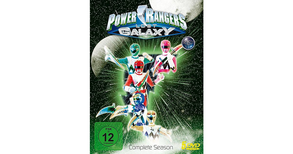 DVD Power Rangers Lost Galaxy - Die Komplette S...