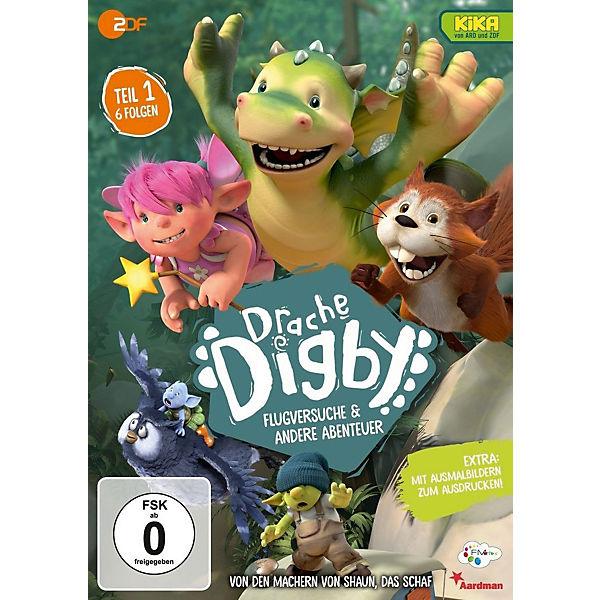 Dvd Drache Digby Staffel 1 Flugversuche Andere Abenteuer Mytoys