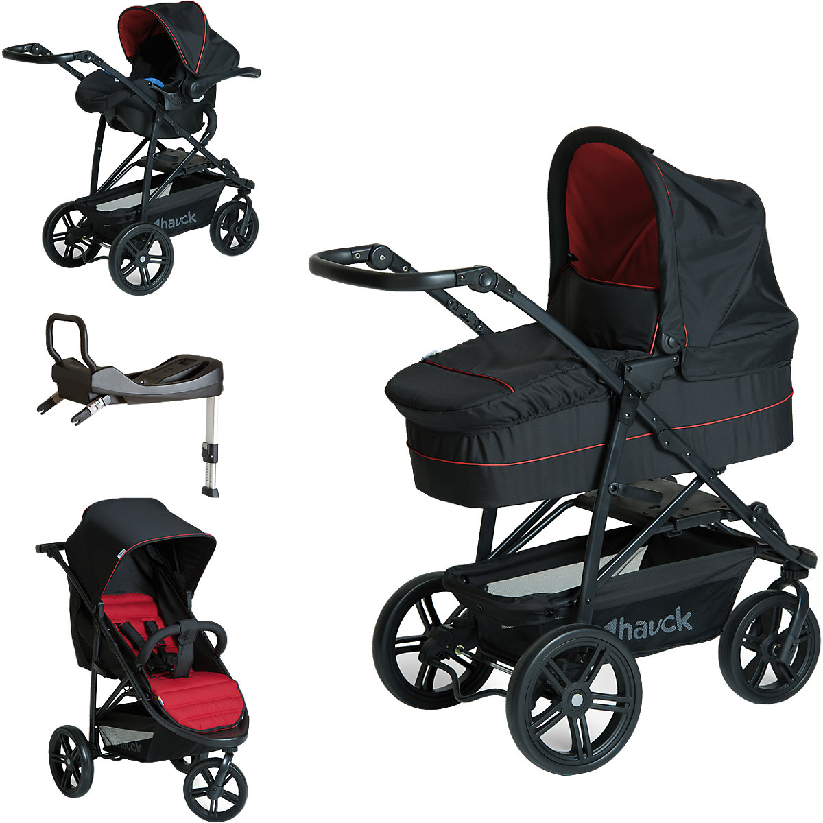 kombi kinderwagen rapid 3 plus trioset inkl isofix base. Black Bedroom Furniture Sets. Home Design Ideas