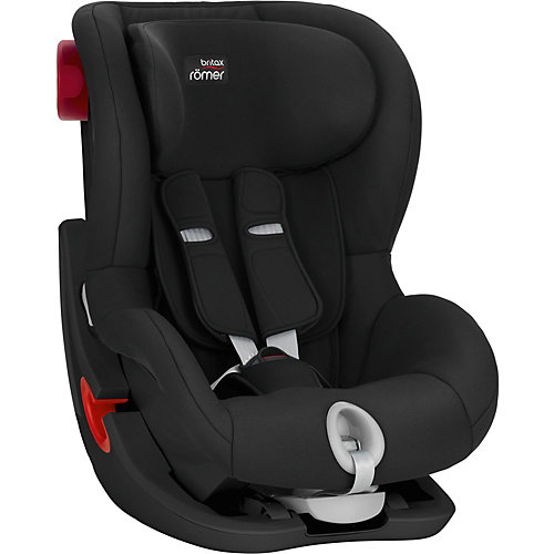 Автокресло Britax Romer King II Black Series 9-18 кг Cosmos Black - черный от Britax Römer