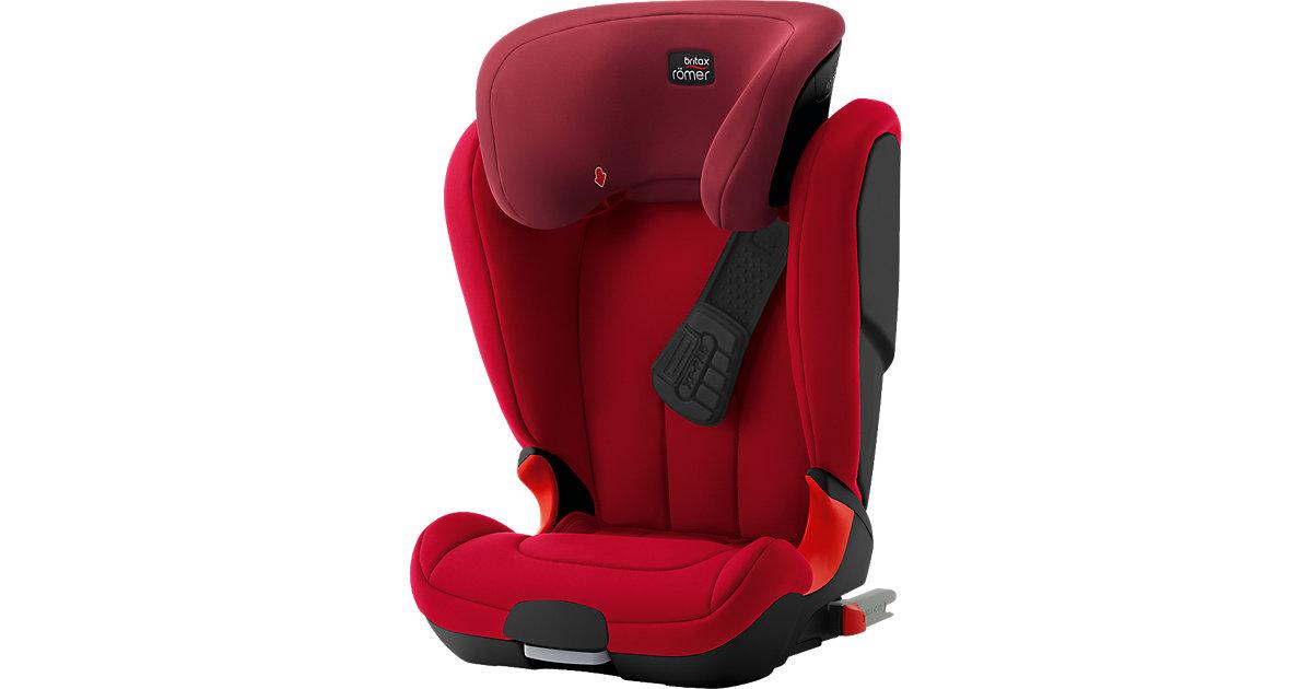 Britax Römer · Auto-Kindersitz Kidfix XP, Black Series, Flame Red, 2017 Gr. 15-36 kg