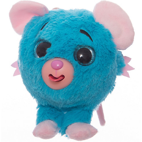 "Мягкая игрушка 1toy ""Дразнюка-Zoo"" Мышка, 13 см, звук от 1Toy"