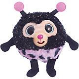"Мягкая игрушка 1toy ""Дразнюка-Zoo"" Божья коровка, 13 см, звук"