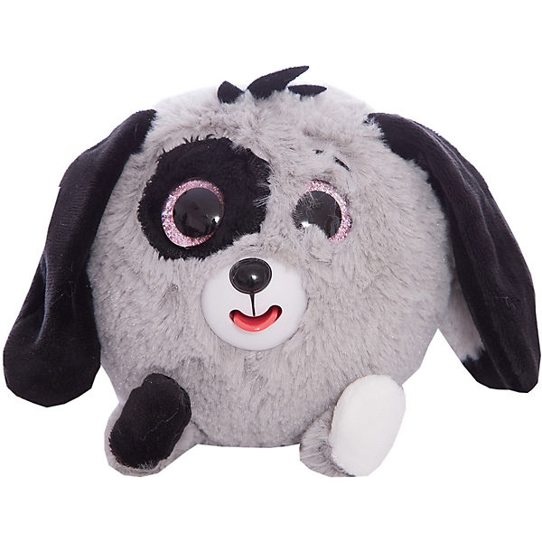 "Мягкая игрушка 1toy ""Дразнюка-Zoo"" Серая собачка, 13 см, звук"