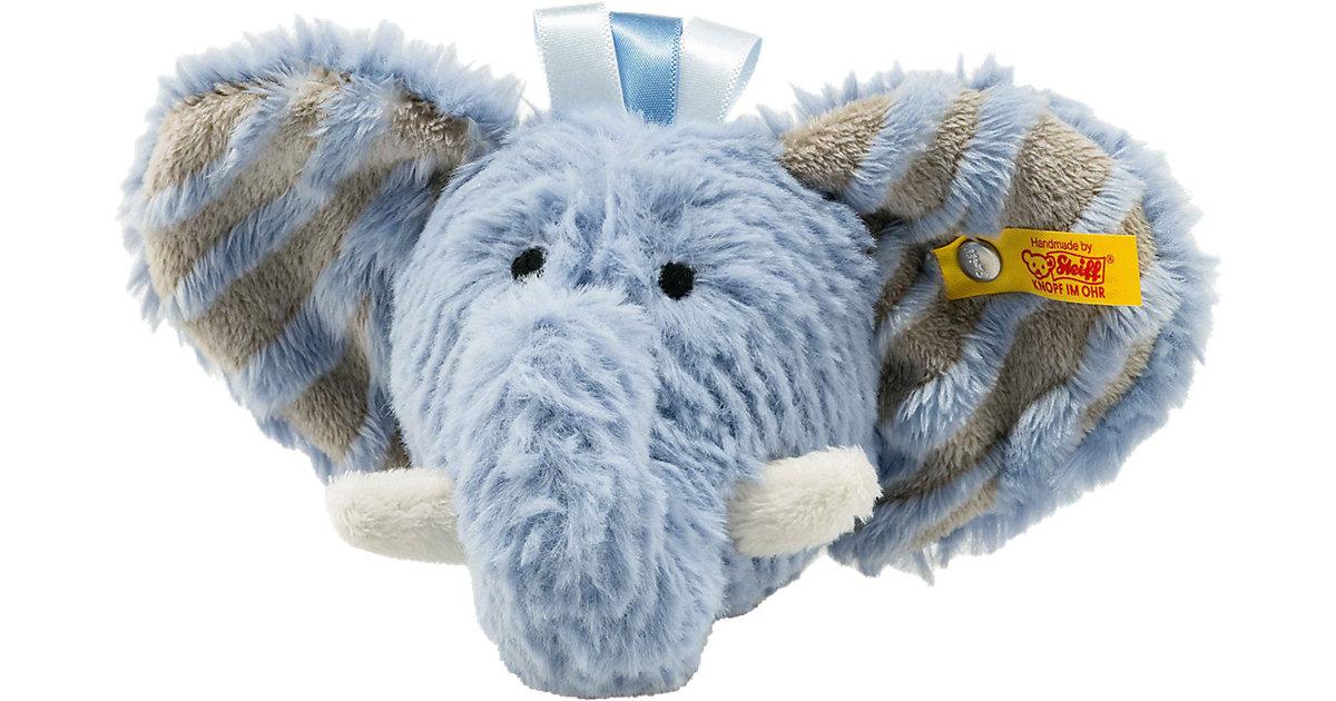 Steiff · Earz Elefant Rassel, blau