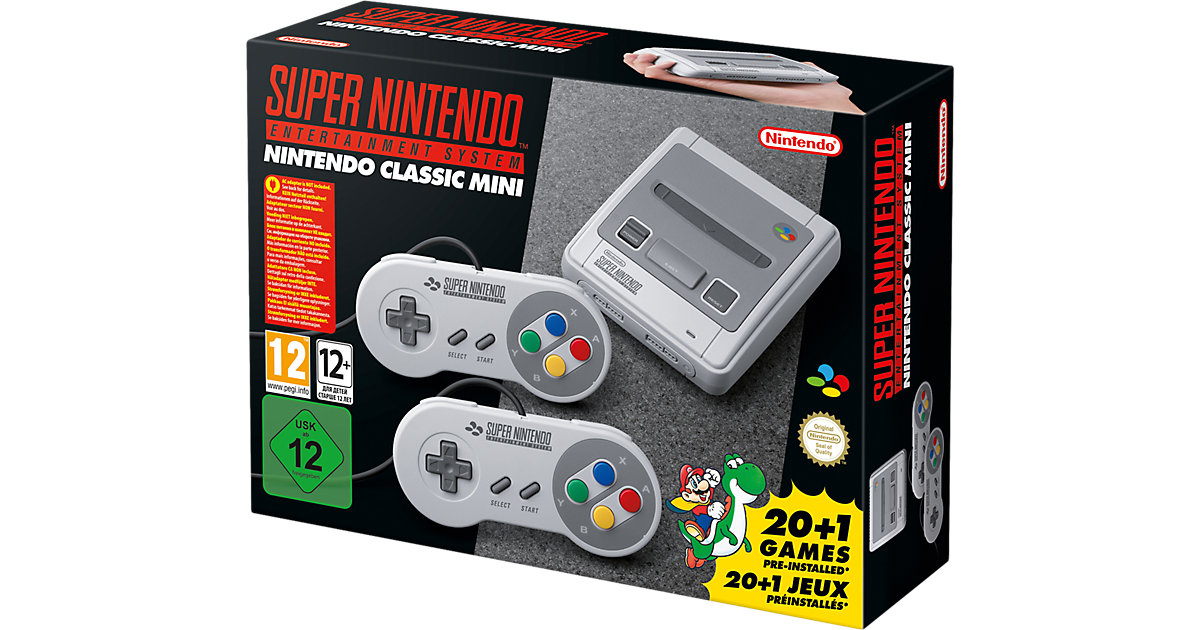Nintendo Classic Mini: Super Nintendo Entertain...