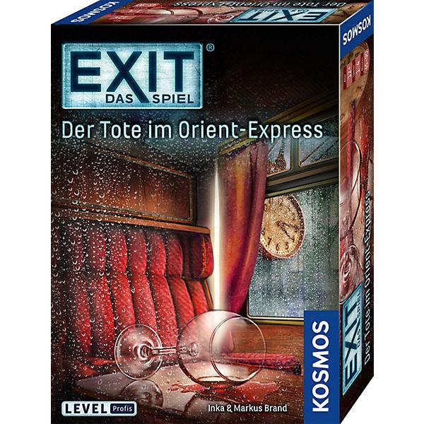 EXIT - Tote Das Spiel - Der Tote - im Orient-Express, Kosmos d95efa