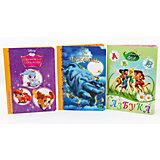 """Комплект книг Disney  """"Азбука, Легенды о чудовище, Королевские питомцы"""""""