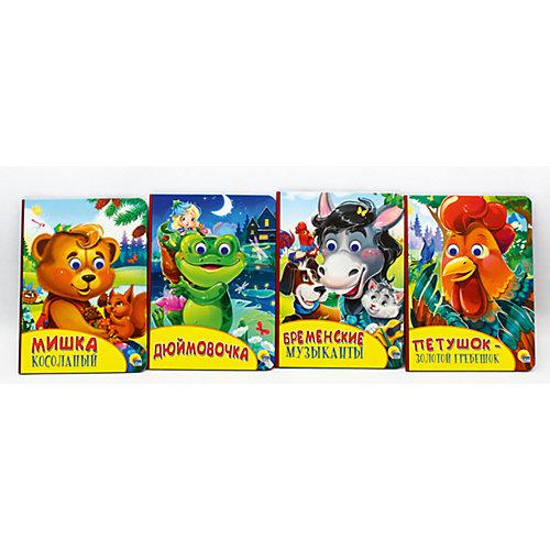 Комплект иллюстрированных сказок для малышей от Проф-Пресс