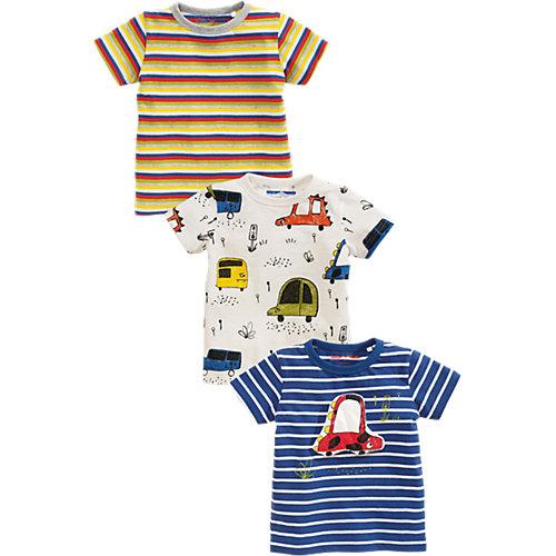 next T-Shirts 3er-Pack , Auto Gr. 74/80 Jungen Baby