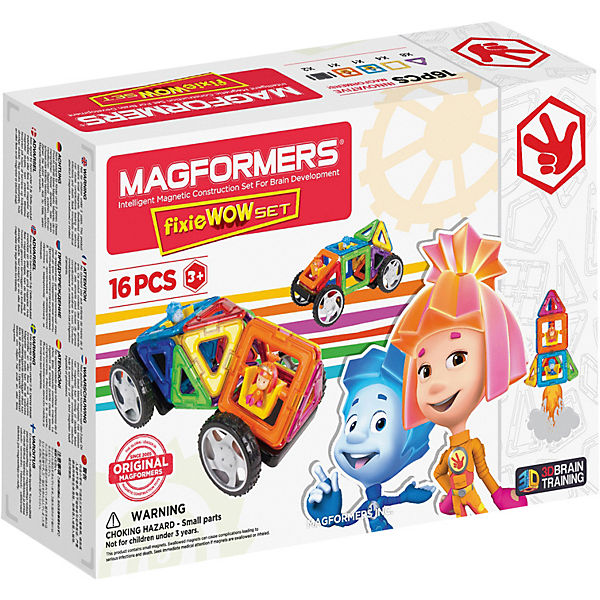 Магнитный конструктор Fixie Wow set, MAGFORMERS