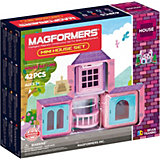 Магнитный конструктор Mini House Set 42, MAGFORMERS