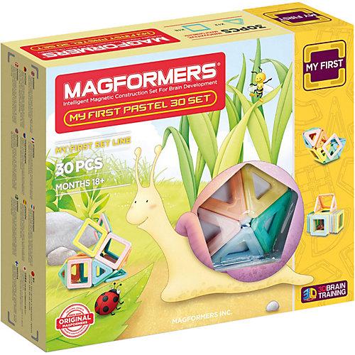 Магнитный конструктор My First Pastel Set 30, MAGFORMERS от MAGFORMERS