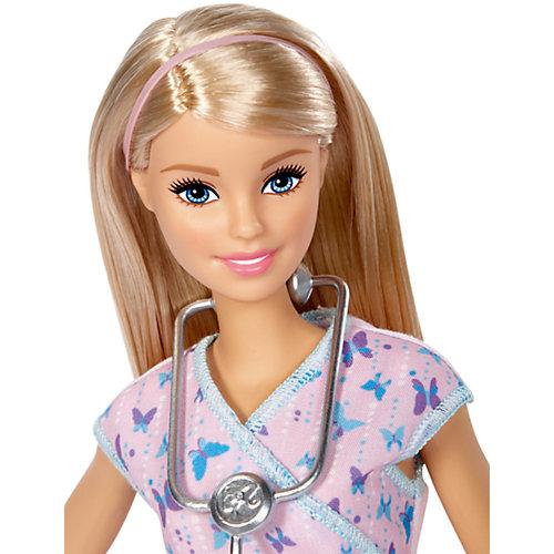 Кукла Barbie из серии «Кем быть?» Врач, 29 см от Mattel