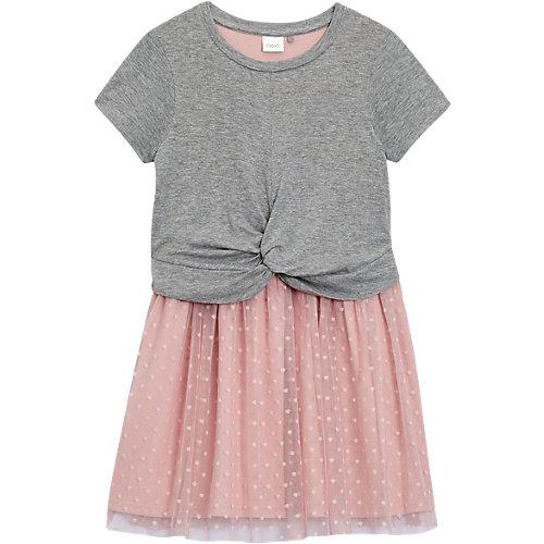 Next Jerseykleid mit Tüllrock Gr. 152 Mädchen Kinder   05057639038602