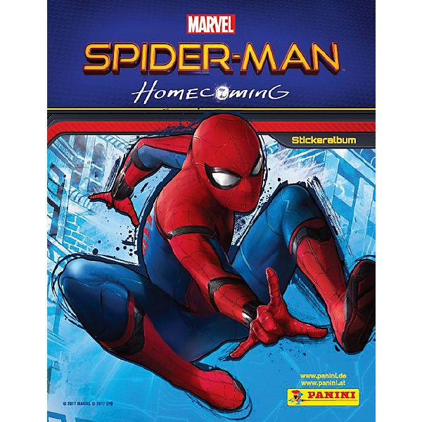 Spider-Man Homecoming - Panini Sammelalbum, Spider-Man