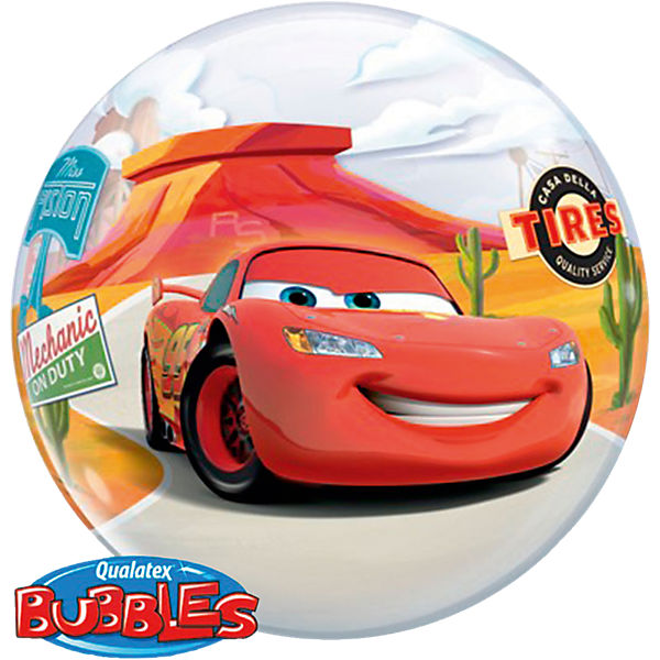 Luftballon Bubble Balloon Cars