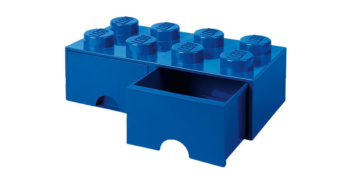 LEGO · LEGO Schubladenbox Storage Brick 8er Stein blau