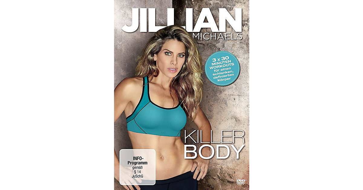 DVD Jillian Michaels - Killer Body