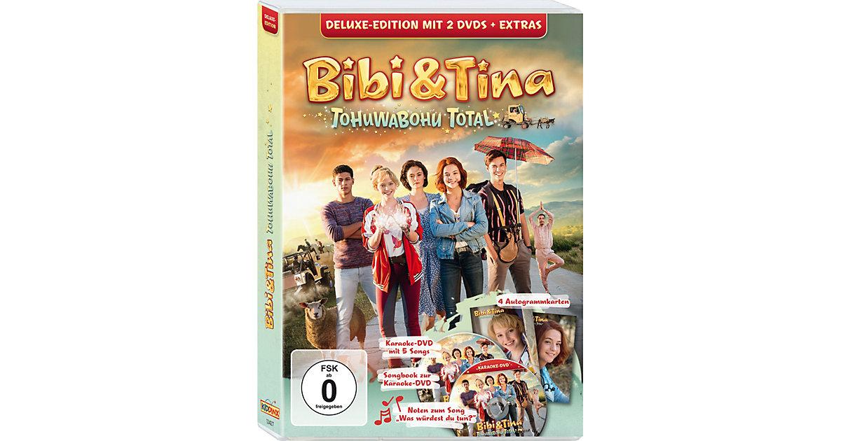 DVD Bibi & Tina 4: Tohuwabohu total - Deluxe (K...