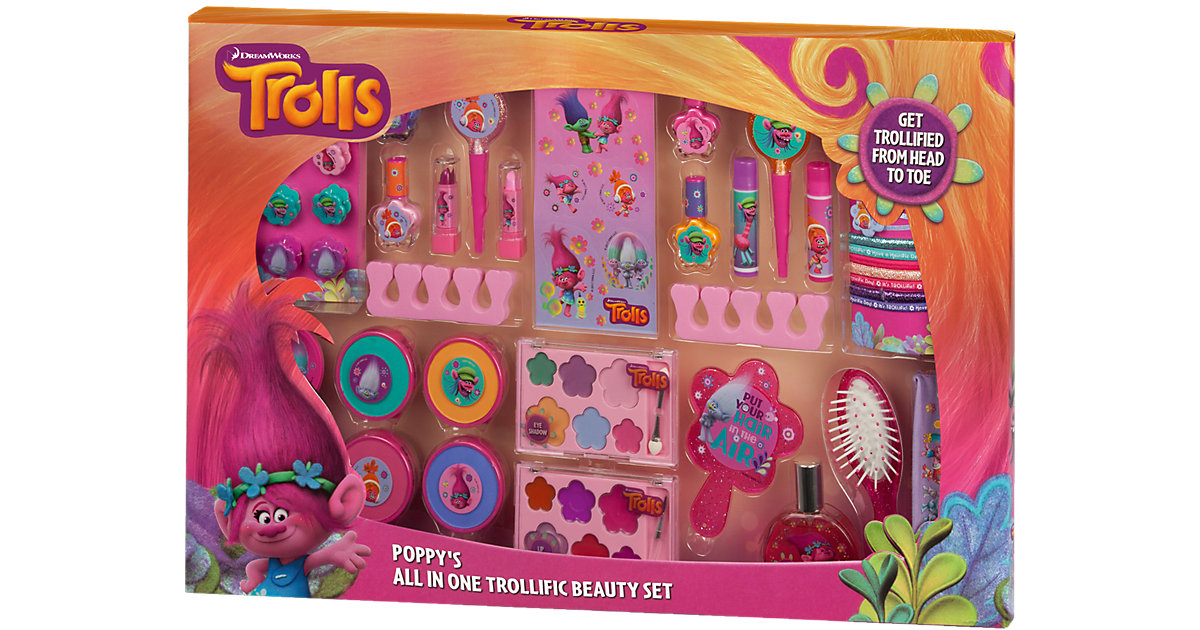 Poppy's Mega Trollific Beauty Set - Exklusivart...