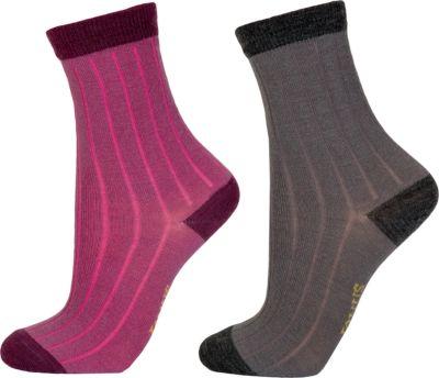 Носки Janus для девочки - лиловый
