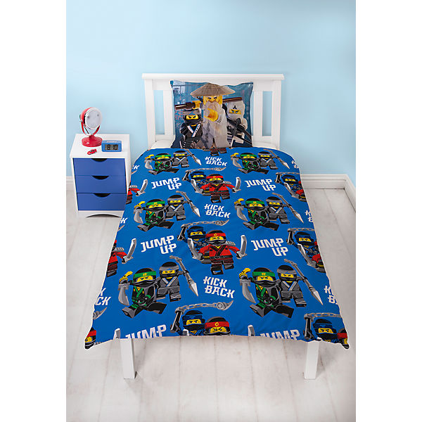 wende kinderbettw sche lego ninjago movie renforc 135 x 200 cm lego ninjago mytoys. Black Bedroom Furniture Sets. Home Design Ideas