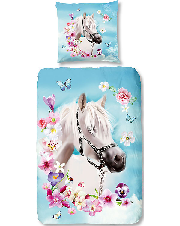 Pferdebettwäsche Kinderbettwäsche My Beauty Pferd 135 X 200 Cm