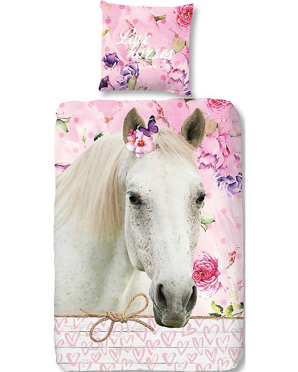 Pferdebettwäsche Kinderbettwäsche Pferde 135 X 200 Cm Mytoys