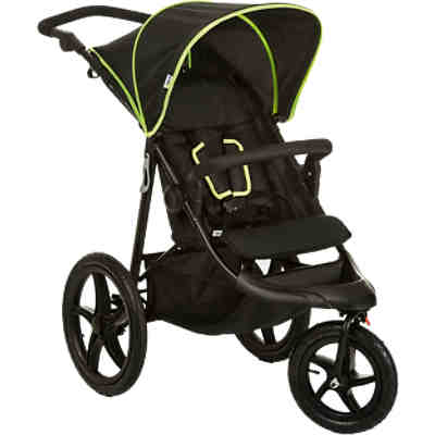 Buggy Runner, black/neon yellow
