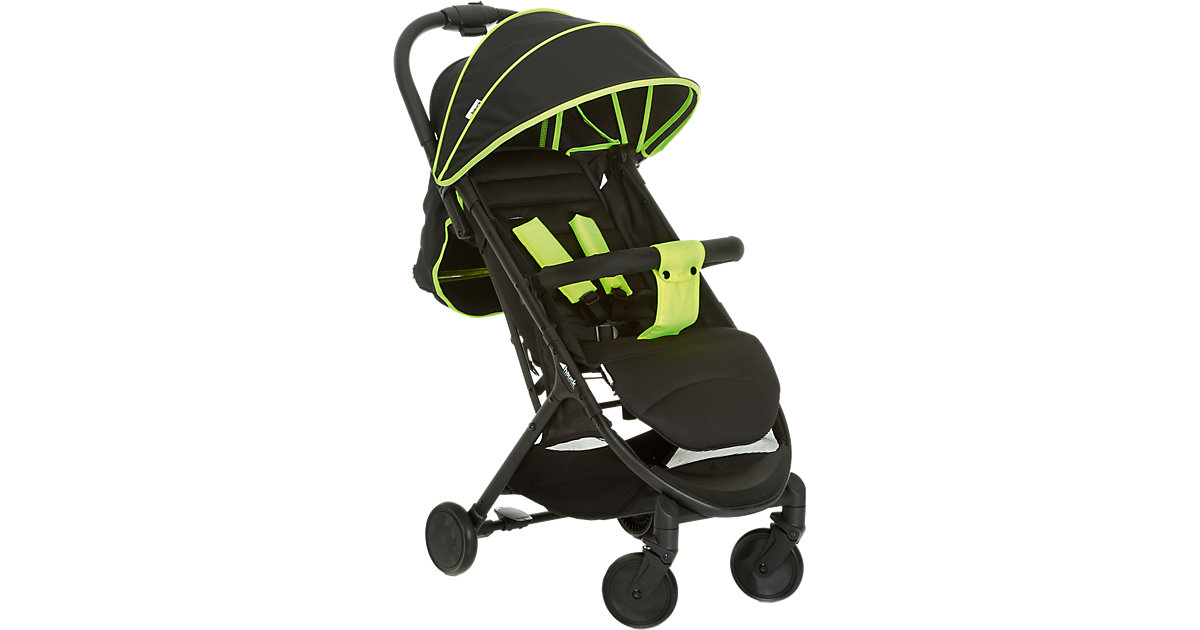 Hauck · Buggy Swift Plus, neon yellow/caviar